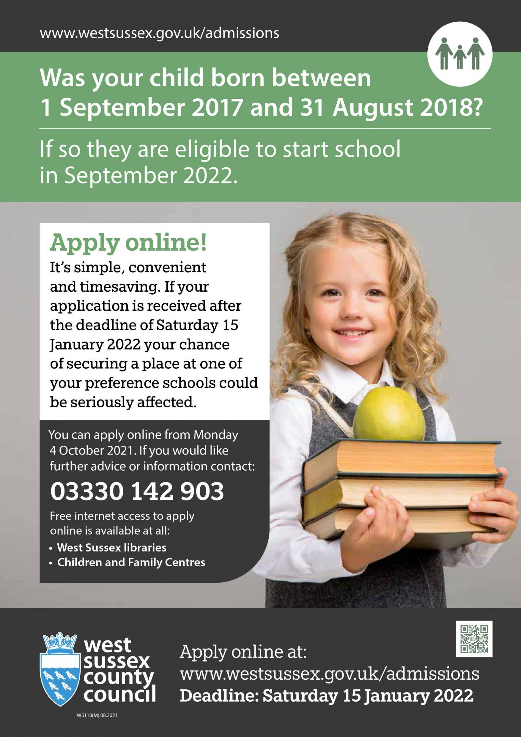WS110M Starting School Poster 2022 v1